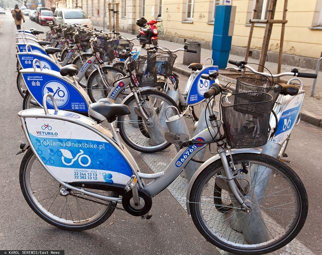 Koronawirus w Warszawie. Wyłączenie rowerów miejskich było dobrym pomysłem? Mieszkańcy odpowiadają/ foto ilustracyjne wyk. 2014-02-26