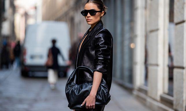 Olivia Culpo w sukience Magdy Butrym, Milan Fashion Week AW 2020-2021