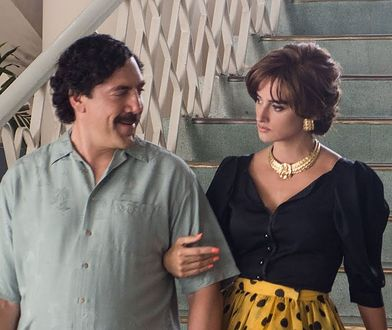 Javier Bardem i Penelope Cruz jako Pablo Escobar i Virginia Vallejo