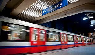 Stacja metra Pole Mokotowskie jest wyłączona z ruchu