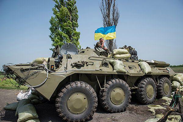 RBNiO: przy ukraińskiej granicy jest 40 tys. żołnierzy rosyjskich