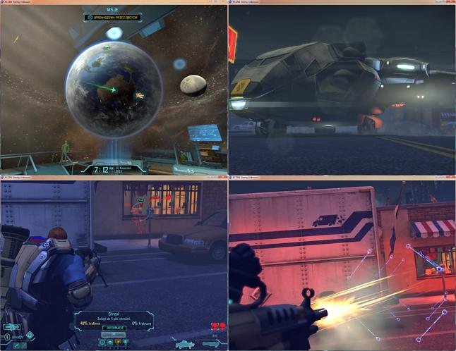 screenshoty nowego UFO