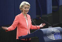Ursula von der Leyen w orędziu o ataku hybrydowym reżimu Łukaszenki