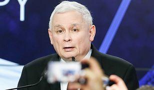 Jarosław Kaczyński świętuje sukces. Być może przedwcześnie.