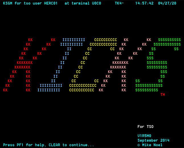 Barwnie i wesoło, tak jak zwykle na mainframe :-)