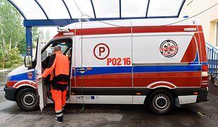 Wypadek z udziałem autobusu w Poznaniu. Rannych 8 osób