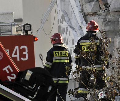Sokołów. Strażacy są wciąż na miejscu (zdjęcie ilustracyjne)
