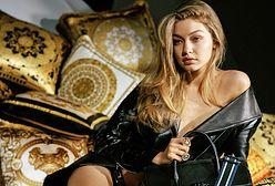 Gigi Hadid i Karlie Kloss w kampanii Versace