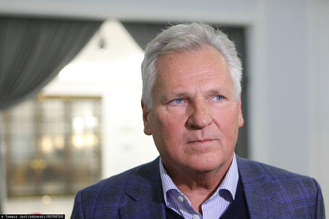 Aleksander Kwaśniewski odniósł się do przeprosin agenta Tomka