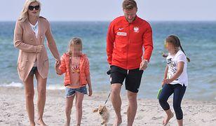 Piłkarze Reprezentacji Polski ze swoimi rodzinami na zgrupowaniu w Juracie