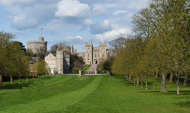 Zamek królewski w Windsorze, Anglia