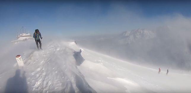 Na wideo Rafała Raczyńskiego możemy zaobserwować siłę żywiołu