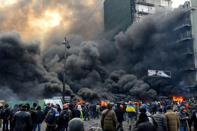 Stolica Ukrainy rok po Euromajdanie