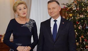 Boże Narodzenie. Para prezydencka złożyła Polakom świąteczne życzenia