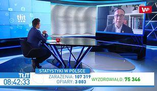 """Koronawirus w Polsce i tysiące przypadków. Michał Kobosko o """"medycznym stanie wyjątkowym"""""""