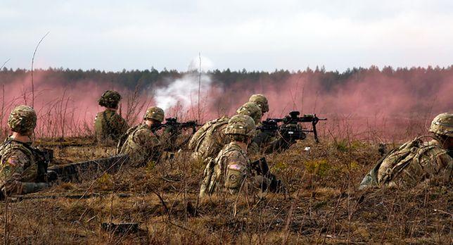 """Manewry """"Szybki trójząb"""" na Ukrainie. Żołnierze z 18 państw"""