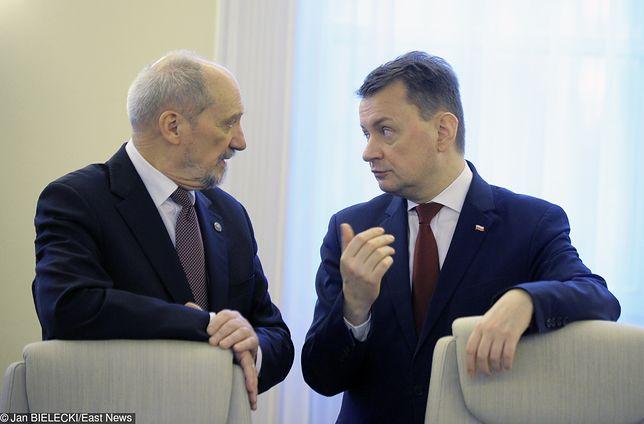 Antoni Macierewicz do tej pory nie pogodził się, że w fotelu szefa MON zastąpił go Mariusz Błaszczak