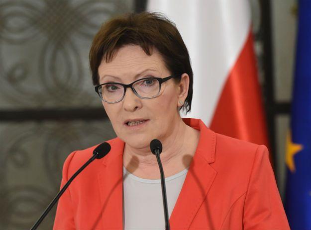 Ewa Kopacz: mam zaufanie do Tomasza Siemoniaka ws. przetargu na śmigłowce
