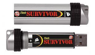 Wzmocniony Pendrive do zadań specjalnych - Corsair Flash Survivor GT