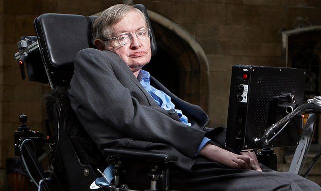 Stephen Hawking był światowej sławy astrofizykiem