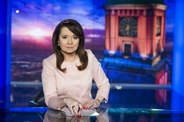 """Danuta Holecka prowadzi """"Wiadomości"""" w TVP"""