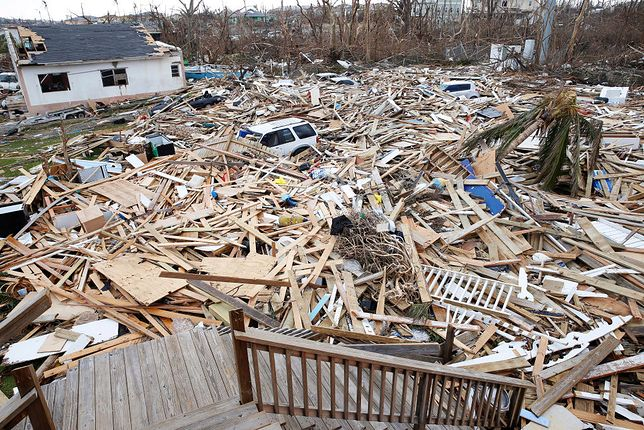 Skutki huraganu Dorian