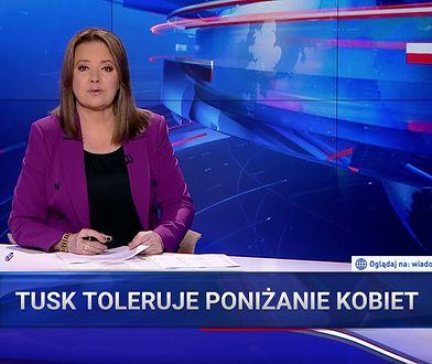 """""""Wiadomości"""" znowu obwiniają Tuska. Tym razem za chamstwo Sikorskiego"""