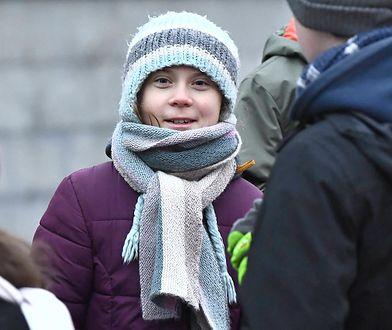 Greta Thunberg pojawiła się w Gdańsku