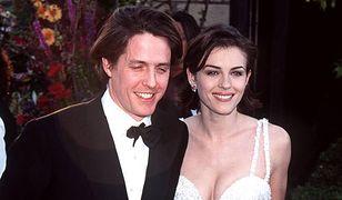 Elizabeth Hurley na rozdaniu Oscarów w 1995 r.