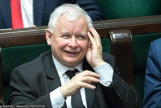 Lider PiS Jarosław Kaczyński
