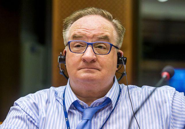 Europoseł Jacek Saryusz-Wolski (PiS)