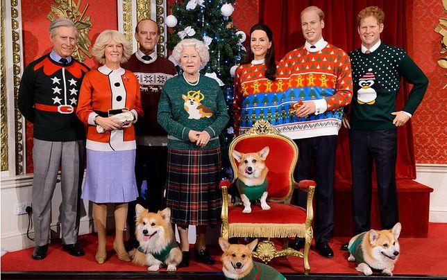 Londyn - brytyjska rodzina królewska w obciachowych swetrach