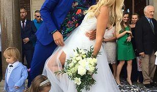 Maria Sadowska wzięła ślub z Adrianem Łabanowskim
