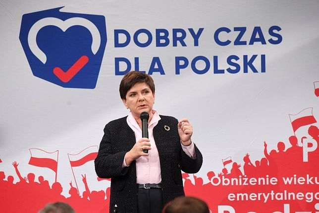 Wybory parlamentarne 2019. Beata Szydło w Łodzi