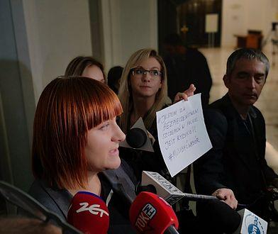 Justyna Socha w Sejmie. STOP NOP zapowiedziało nową inicjatywę ustawodawczą