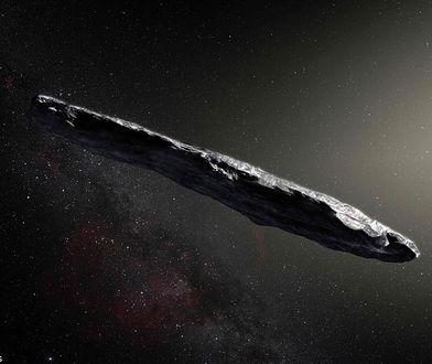 """""""Oumuamua"""" jest czymś, czego nigdy nie widzieliśmy. Obiekt nie pasuje do obecnej wiedzy"""