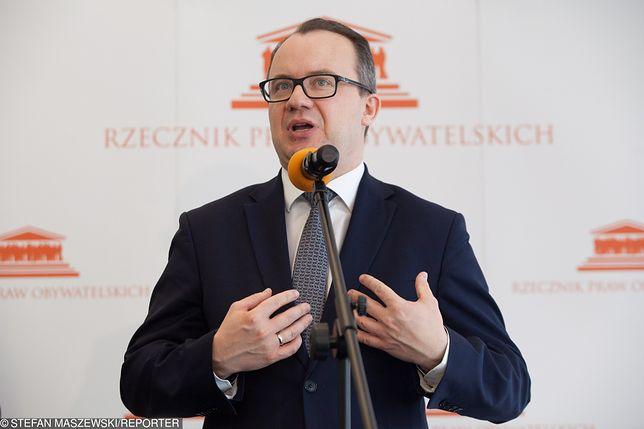 Adam Bodnar (Rzecznik Praw Obywatelskich) popiera nowelizację prawa