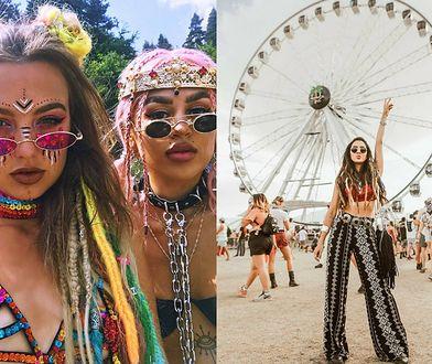 Na festiwalach muzycznych oglądamy na ogół przegląd trendów w modzie i urodzie w stylu boho oraz hippie