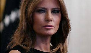 Melania Trump wybrała elegancką kreację