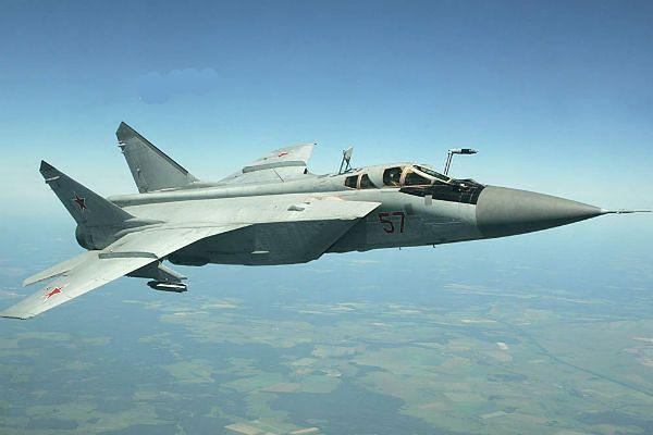 Uratowano dwuosobową załogę rosyjskiego myśliwca MIG-31