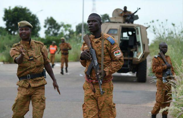 Żołnierze Burkina Faso