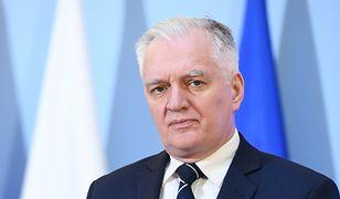 Koronawirus w Polsce. Wicepremier Jarosław Gowin skrytykował wypowiedź byłej posłanki PiS Bernadetty Krynickiej