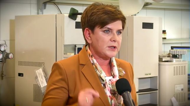Beata Szydło podczas kampanii wyborczej w 2015 roku
