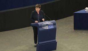 Beata Szydło w PE: zostawcie moją ojczyznę w spokoju