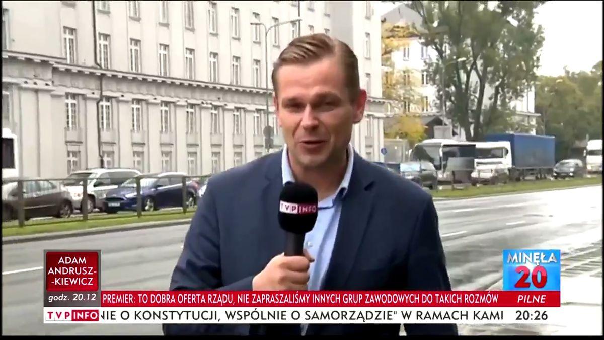 Nowa gwiazda TVP Info. Łukasz Sitek atakuje tych, którzy narazili się PiS