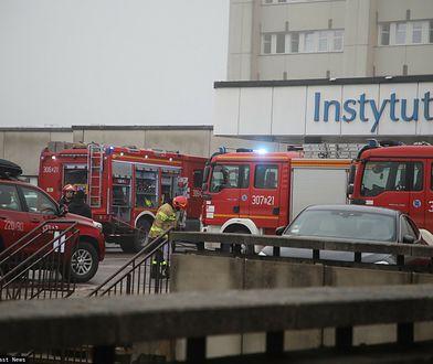 Łódź. Pożar w Instytucie Centrum Zdrowia Matki Polki. Ewakuacja kilkuset osób
