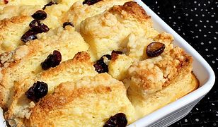 Jak wykorzystać czerstwe pieczywo? Pudding z drożdżówki