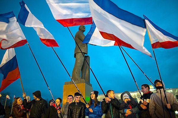 Wstępne wyniki referendum na Krymie: 95,5 proc. za przyłączeniem Krymu do Rosji