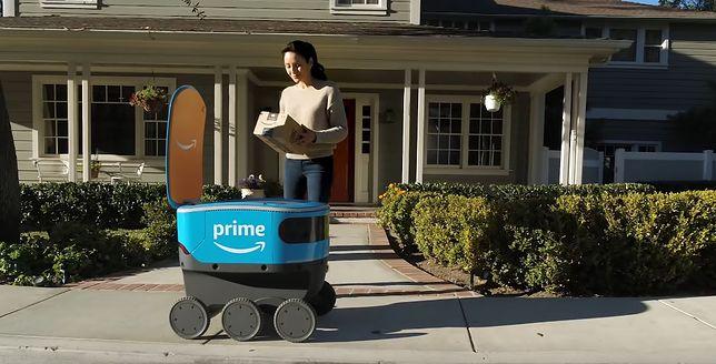 Amazon Scout: будут дроны, будут управляемые автомобили