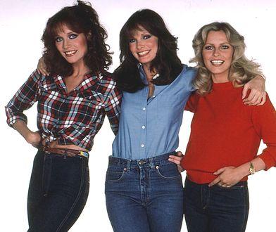 """Na zdjęciu od lewej: Tanya Roberts, Jaclyn Smith i Cheryl Ladd jako """"Aniołki Charliego"""""""